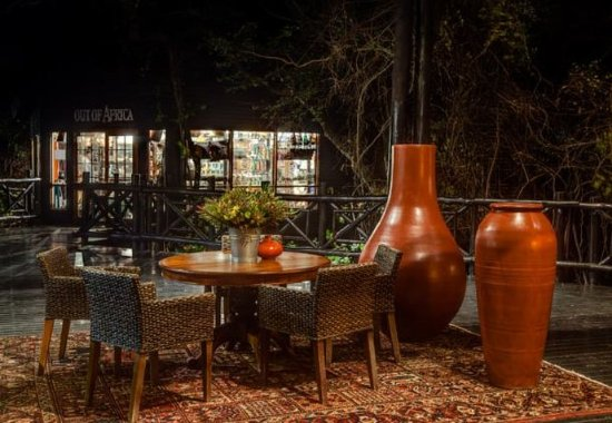 Skukuza, แอฟริกาใต้: Kudyela Restaurant - Outdoor Dining