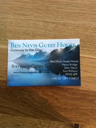 Ben Nevis Guest House Photo