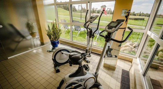 Kurort Oberwiesenthal, Germany: Fitness Room