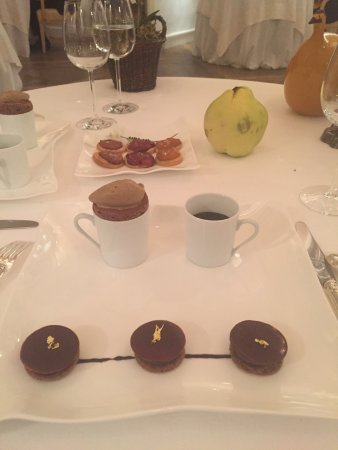 Les Pres d'Eugenie: Snaps of food, spa, grounds