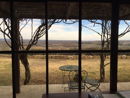 Paso Robles, CA: View from tasting room