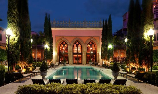 North Palm Beach, FL: Boca Resort Club Boca Spa Night