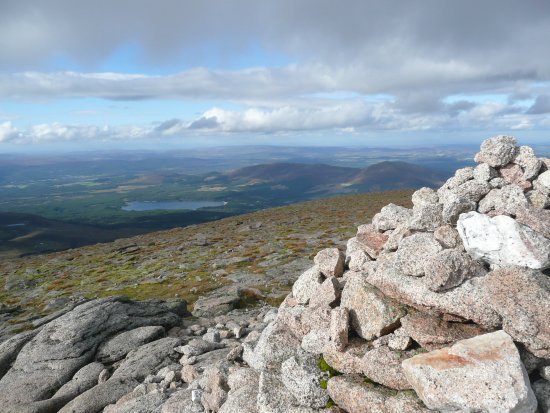 Aviemore, UK: Cairn Gorm summit