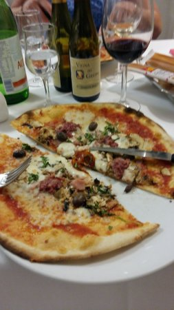 Province de Lucques, Italie : Pizza was delicious