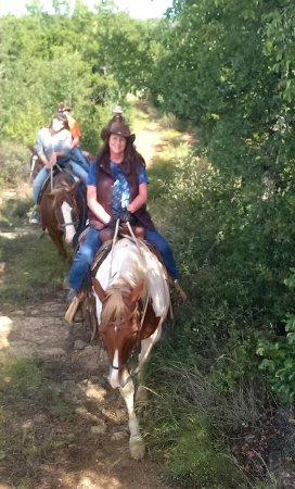 Graham, تكساس: Trail riding