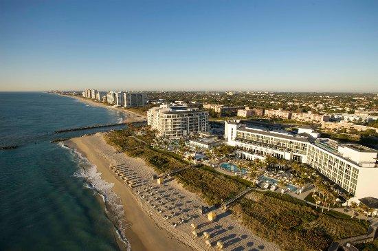 Boca Raton Resort Aerial View