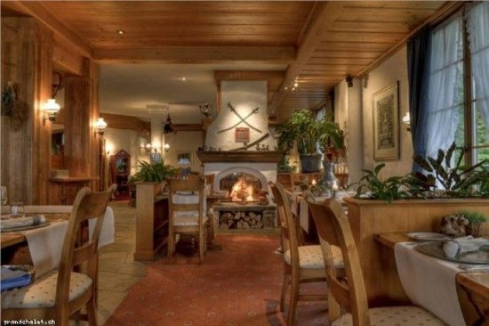 Hotel Le Grand Chalet: Restaurant