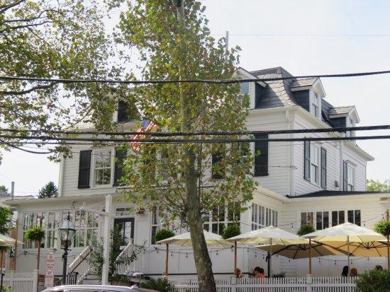 Basking Ridge, NJ: View of the Restaurant from across the Street