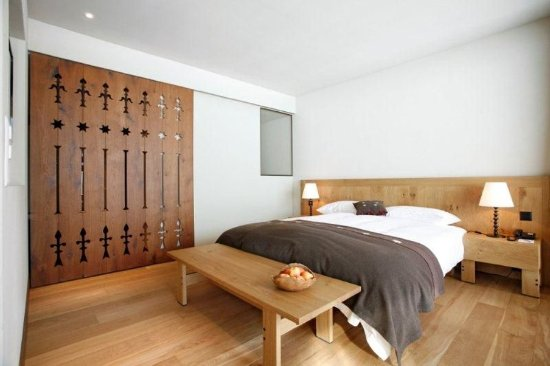 Melchsee-Frutt, İsviçre: BudgetDouble Room Mountainview