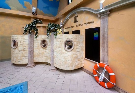 Bartoszyce, Polonia: Sauna entrances