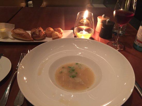 Grand Hyatt Sao Paulo: delicious chef surpris starter