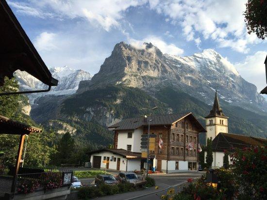 View from our room Hotel Gletschergarten