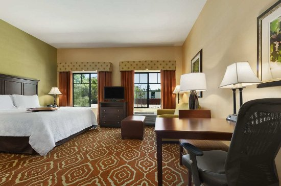 Hampton Inn & Suites- San Luis Obispo: King Studio Suite with Shower