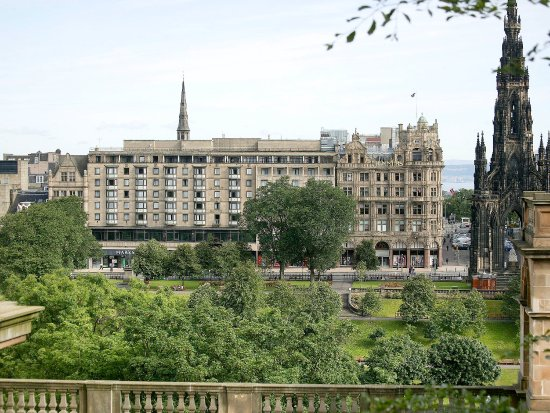 Mercure Edinburgh City - Princes Street Hotel: Exterior