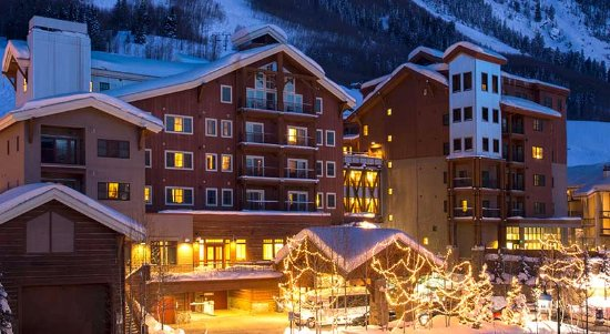 Lodge at Mountaineer Square: Winter in Crested Butte.