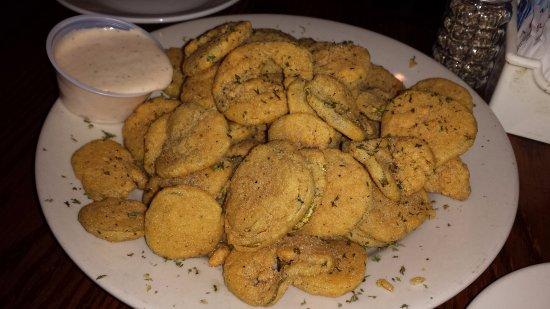 Jaeger's Seafood Beer Garden: fried pickles