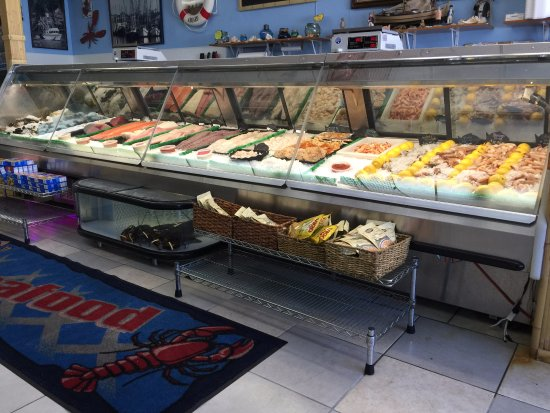 Ortley Beach, Nueva Jersey: bigger and best selection of fresh seafood