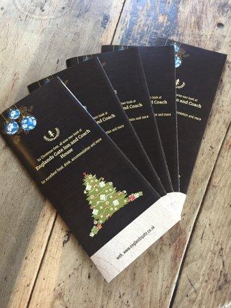 Bodenham, UK: Christmas party menus