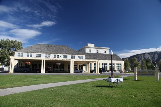 Mammoth Hot Springs Hotel & Cabins: Traditionell!