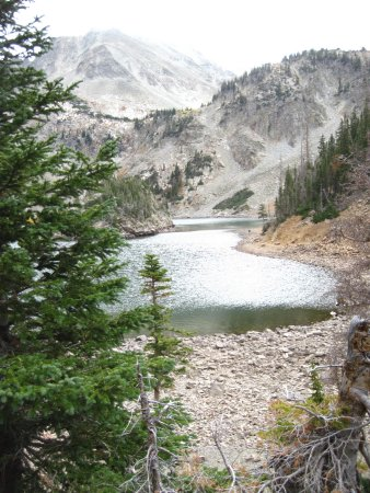 Walden, CO: Lake Agnes is a spectacular alpine lake.