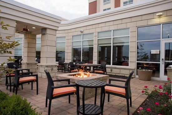 Miamisburg, OH: Outdoor Patio with Firepit