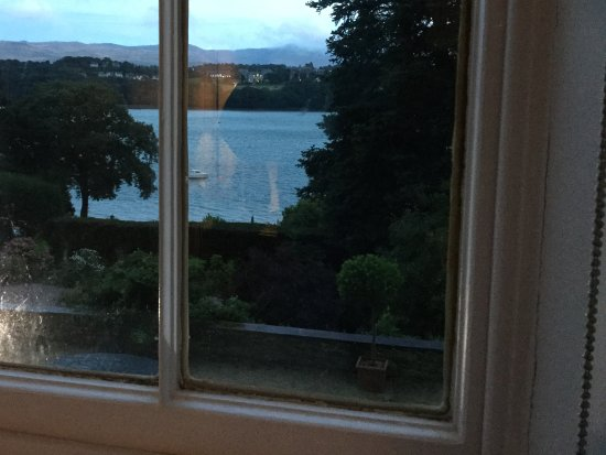 Menai Bridge, UK: View from room