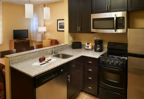 Saginaw, MI: Two-Bedroom Suite Kitchen