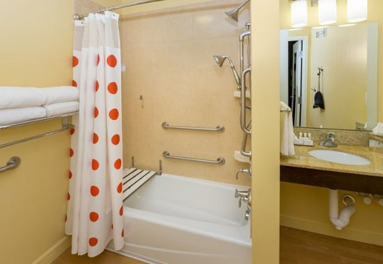 Cheektowaga, Νέα Υόρκη: Accessible Suite Bathroom with Tub