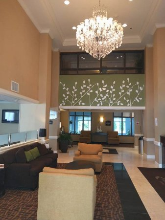 Sleep Inn & Suites: Hotel Lobby Area.
