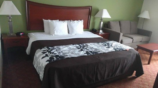 Sleep Inn & Suites: Suite King Size.