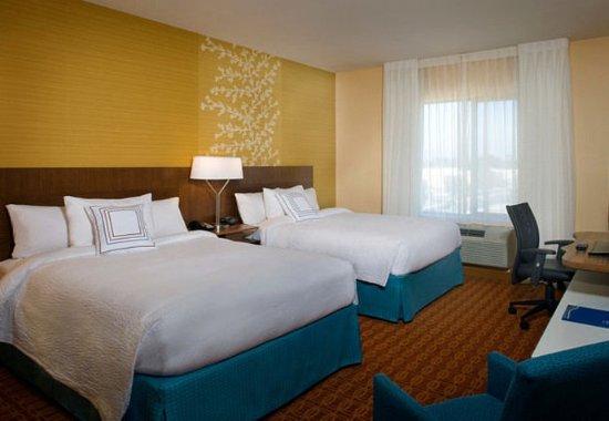 Tustin, แคลิฟอร์เนีย: Queen/Queen Guest Room