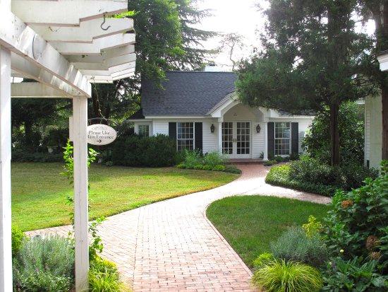 Pittsboro, NC: Fearrington House Inn - Garden House