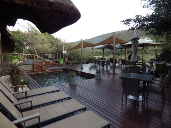 Shamwari Game Reserve, South Africa: Main Building & Outdoor Dining Area