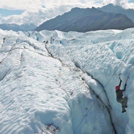 Glacier View, AK: drone shot 2