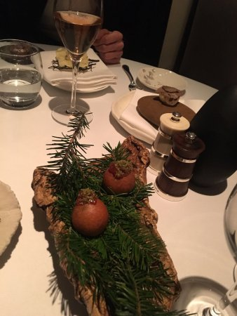 The Ledbury: Autumn tasting spot on