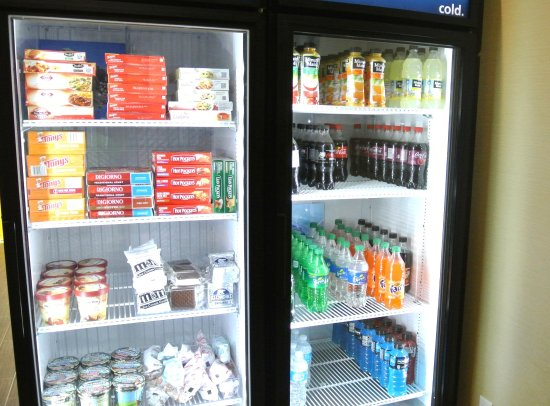 Carrizo Springs, Teksas: Suite Shop Cold Items
