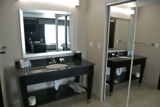 Carrizo Springs, Teksas: Suite Vanity