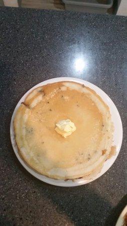Oswego, Νέα Υόρκη: Blueberry pancake