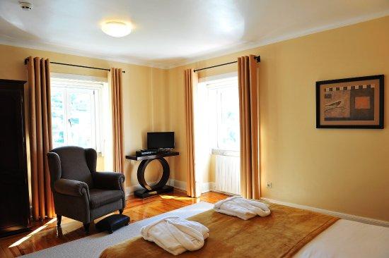 Arganil, Πορτογαλία: Junior Suite double room