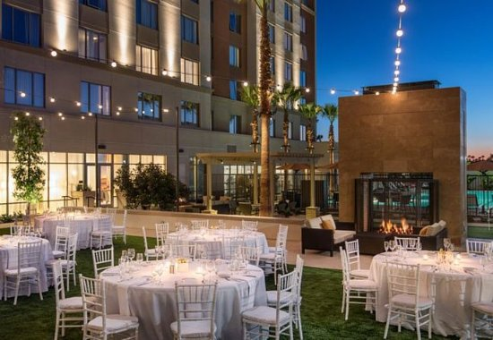 Irvine, CA: Event Lawn - Reception Setup