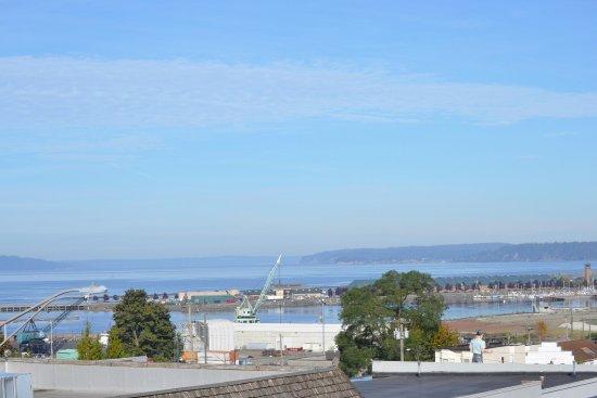 Everett, WA: View of Puget Sound