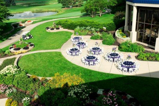 Oak Brook, IL: Purple Table