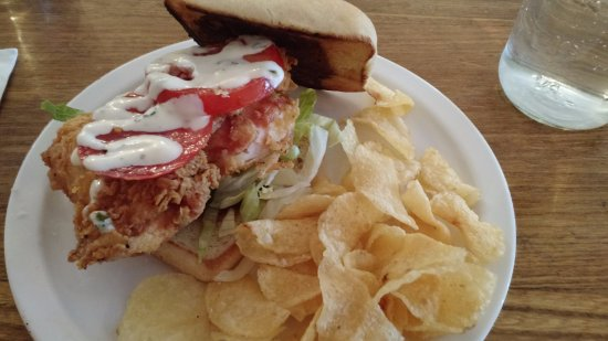 Viroqua, WI: Fried chicken sandwich