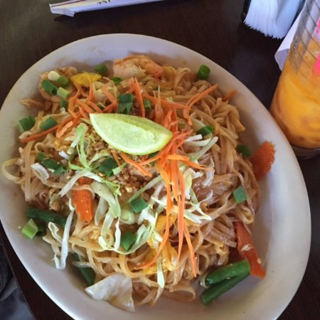 Thai Kitchen Pad Thai pad thai noodle were great. - picture of sala dang thai kitchen