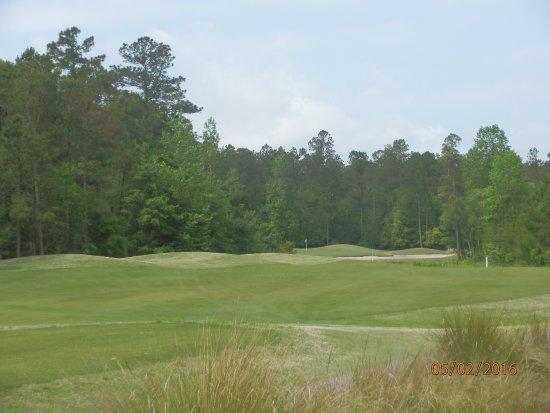 Loris, Carolina del Sur: Hole # 6 from the forward tees.