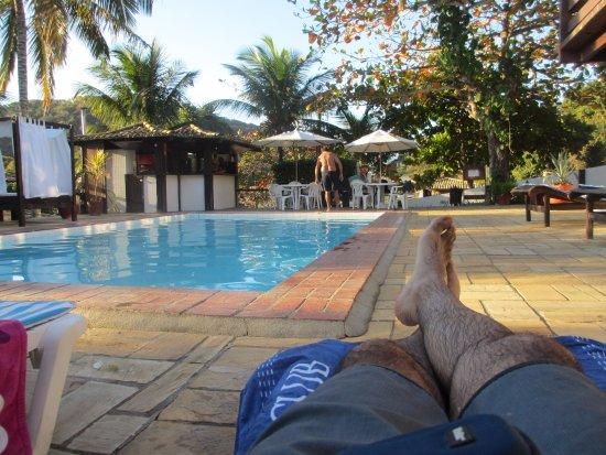 Pousada Lestada: A un costado de la piscina.
