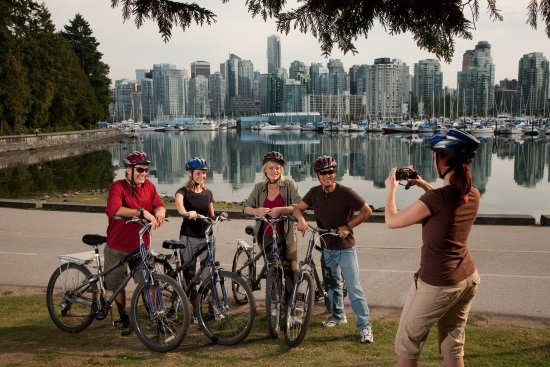 Vancouver, Canadá: Biking in Stanley Park