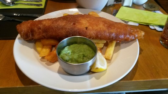 The Albert: The WORST battered fish I have ever been served in a restaurant