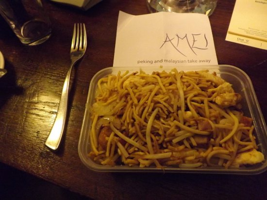 Beaminster, UK: Singapore Noodles