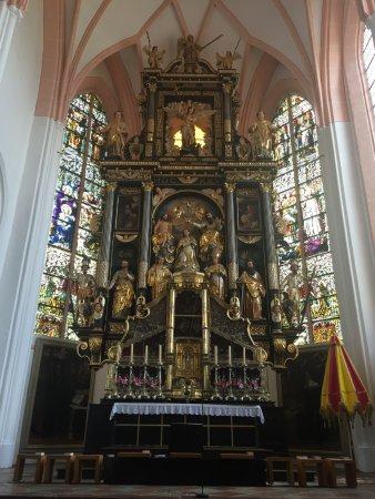 Mondsee, Austria: Detalhes do altar